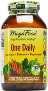 Megafood – One Daily – Natürliches Multivitamin – 30 Tabletten