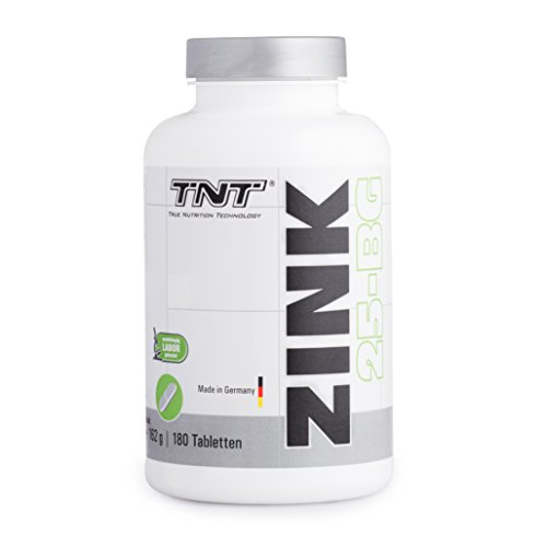 Zink Tabletten Hochdosiert für 6 Monate – Immunsystem stärken – Zink-Histidin made in Germany - 180 Tabletten