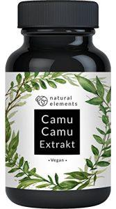 Der VERGLEICHSSIEGER 2018* Camu-Camu Kapseln – Natürliches Vitamin C – 120 vegane Kapseln im 4 Monatsvorrat – Ohne unerwünschte Zusätze – Laborgeprüft und hergestellt in Deutschland