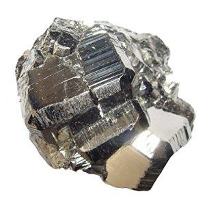 Pyrit Kristall Naturstück auch Katzengold genannt A* extra Qualität aus Peru ca. 40 – 50 mm.(4695)