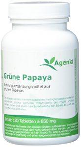 Agenki Grüne Papaya (Enzyme) – 180tab