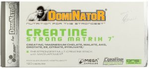 Olimp Creatine Strong Matrix 7 (Dominator) 120 Kapseln, 1er Pack (1 x 170,4 g)