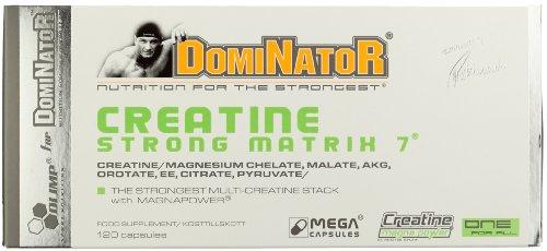 Olimp Creatine Strong Matrix 7 (Dominator) 120 Kapseln, 1er Pack (1 x 170,4 g)