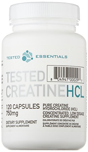 Tested Creatine HCL 120 Kapseln