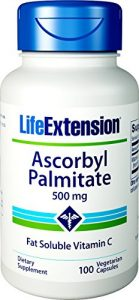 Life Extension, Ascorbyl Palmitate, 500mg, 100 Veg. Kapseln