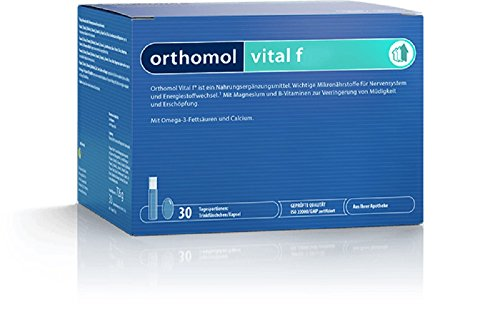Orthomol Vital F Trinkflaschen, 30 Stück, 1er Pack (1 x 720 g)