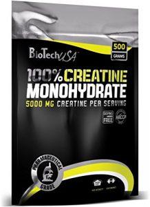 Biotech USA 100% Creatine Monohydrate, 500g Beutel (2er Pack)