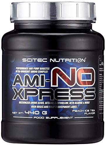 Scitec Nutrition Ami-NO Xpress, Pfirsich-Eistee, 1er Pack (1 x 440 g)