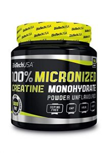 BIOTECH USA 100% Creatine Monohydrate Dose, 2er Pack (2 x 500 g)