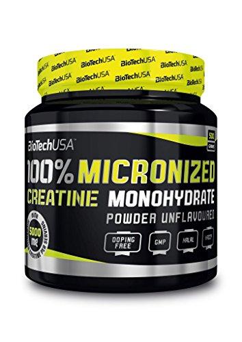 BIOTECH USA 100% Creatine Monohydrate Dose, 2er Pack (2 x 500 g)
