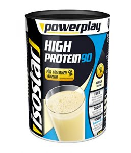 Isostar Powerplay High Protein 90 Vanille 750g, 1er Pack (1 x 750 g)