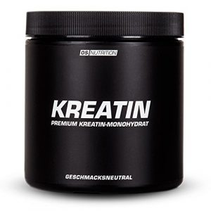 KREATIN Premium Kreatin-Monohydrat Pulver – OS NUTRITION geschmacksneutral 400g – made in Germany