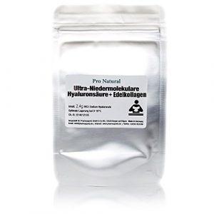 2,4g Hyaluronsäure + Edelkollagen zum selber herstellen eigener Kosmetik / Hyaluron Gel / Creme
