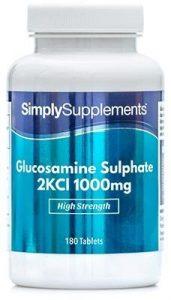 Glucosaminsulfat 1000mg – 360 Tabletten – Versorgung bis zu einem Jahr – unterstützt einen aktiven Lebensstil – SimplySupplements