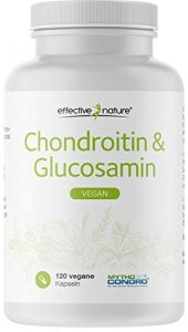 effective nature Chondroitin & Glucosamin – 100% Vegan – 120 Kapseln