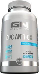 GN Laboratories OPC Anti-OX Antioxidantien Unterstützung Des Immunsystems Natürlicher Pflanzenextrakte 120 Vegy Caps