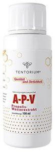 """Api Propolis Flüssig – """"A-P-V"""" 100 ml – Extrakt aus Bienen-Propolis ohne Alkohol, mit Silberionen, 100% Natur für Immunsystem"""
