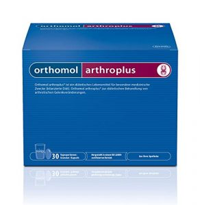 Orthomol arthroplus 30er Granulat & Kapseln für Gelenke & Knochen – Glucosaminulfat, Chondroitinsulfat & Hyaluronsäure