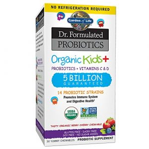Dr. Formulated Probiotics, Organic Kids + – Garten des Lebens
