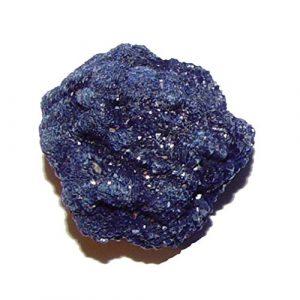 Azurit Kristall Mineral Rohstück Größe ca. 30-45 mm schöne blaue Farbe