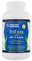 Houston Enzyme, TriEnza mit DPP-IV Aktivität, 180 Kapseln
