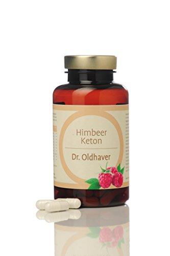 Dr. Oldhaver Himbeer Keton (60 Kapseln) | Gewichtreduzierung | Laktosefrei & Glutenfrei | Frei von Farbstoffen | Premium Qualität | Mit Apfelessig, Apfelpektin, Grüner Tee, African Mango, Koffein, Vitamin C, Acai