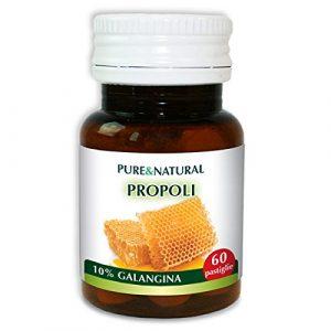 PROPOLIS 100% REIN mit 150 NÄHRSTOFFEN, FÜR MAXIMALE WIRKUNG. Nahrungsergänzungsmittel Pure&Natural ist 100% natürlich und beim italienischen Gesundheitsministerium gemeldet.