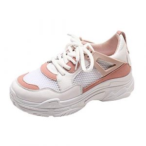 Damen Schuhe,TWBB Mesh Plateauschuhe Flache Schuhe Arbeiten Laufen Weiche Schuhe