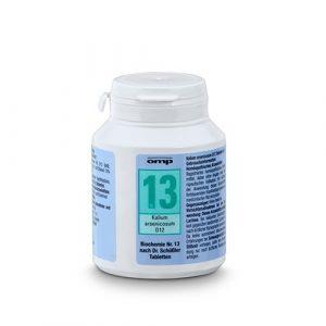 Schuessler Salz Nr. 13 Kalium arsenicosum D12 – 400 Tabletten, glutenfrei