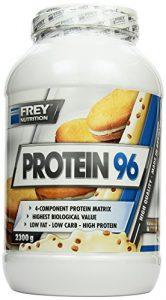 Frey Nutrition Protein 96 Cookies und Cream Dose, 1er Pack (1 x 2.3 kg)