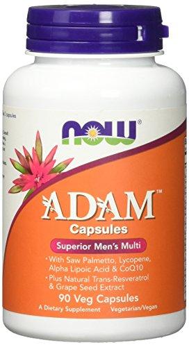 Now Foods Adam Men Superior Multi Multivitamine (Für den Mann) Vegetarisch Glutenfrei, 90 Kapseln
