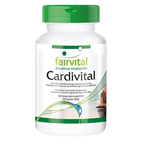 Cardivital - Herzvitamine - für 45 Tage - reichhaltiges Multivitamin ohne Vitamin K - 90 Kapseln