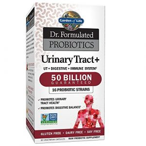 Garden of Life Dr. Formulated Probiotics Urinary Tract+ 50 Billion CFU
