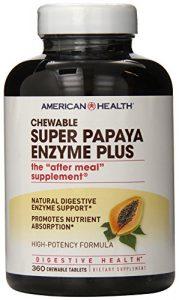 American Health, Super Papaya-Enzym Plus, 360 Kautabletten