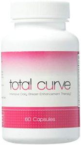 Total Curve zur Brustvergrößerung – 60 Tabletten |Für mehr Brustvolumen | Natürliche Bruststraffung |Brustvergrößerung ohne Op | Natürliches Ergänzungsmittel | Wirksame Schönheitspflege