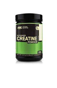 Optimum Nutrition Micronised Creatine Monohydrate- Kreatin-Monohydrat Pulver (hergestellt für Muskelaufbau von ON), Unflavoured, 88 Portionen, 317g