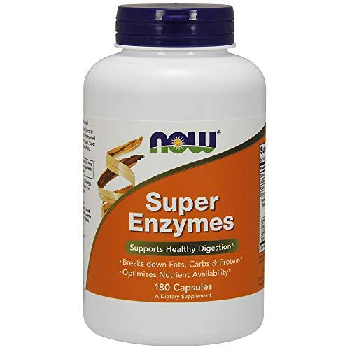Now Foods | Super Enzyme | 180 Kapseln | glutenfrei | sojafrei