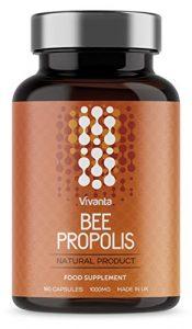 Bienen Propolis – 1000mg Propolis x 180 Kapseln | 6 Monate Vorrat | Propolis