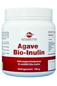 AGAVE BIO-INULIN – Nahrungsmittelpulver Es enthält Agave Inulin aus biologischem Anbau – 700 g