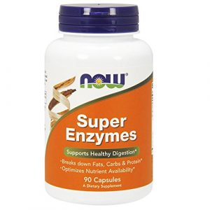 Now Foods | Super Enzyme | Unterstützt die Verarbeitung von Fetten, Proteinen und Kohlenhydraten | 90 Kapseln