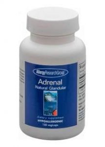 Adrenal Natural Glandular 150 Vegicaps – Allergy Research Group