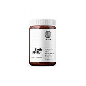 Probiotika Kapseln – Darmsanierung Kapseln zur Unterstützung der Verdauung und der Gesundheit – DALUMA Biotic 5 Billion