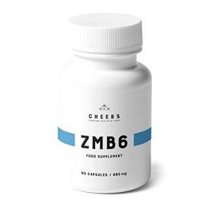 Magnesium Ergänzungsmittel – ZMB6 –Hoch AbsorbierbaresMagnesium CitratmitZink& Vitamin B6– Schlafe Wie EinBaby & Erhalte Linderung Von Krämpfen– 90 VeganeKapseln(320 mg)