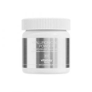 Hyaluronic Acid 20 g – mit 100% reinem Hyaluron – Hyaluronsäure Pulver