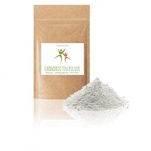 Chondroitin Pulver – 100 g – Chondroitinsulfat – Sulfat, Sulfate – Spitzenqualität – fein gemahlen – OHNE Hilfs- u. Zusatzstoffe – Qualität: MADE IN GERMANY
