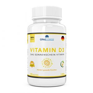 Vitamin D-Tabletten | 1000IE Vitamin D3 Ergänzungsmittel | OSHUNhealth