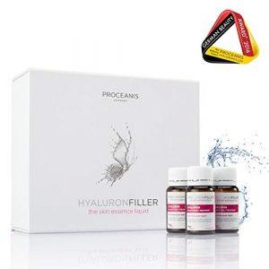 Hyaluron zum Trinken. Prämierter Anti-Aging Beauty Drink für schöne Haut, 30 Tage Trink-Ampullen. Hyaluronsäure hochdosiert, Vegan