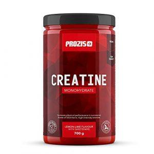 Prozis Creatine Monohydrate 700 g Lemon-Lime – Hochwertiges Ergänzungsmittel zur Verbesserung der physischen Leistungsfähigkeit, laborgetestet
