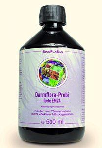 Darmflora-Probi forte EM24, 24 lebende Bakterienstämme, 30 Mrd. KBE, sofort koloniebildend, FLÜSSIG, 500 ml
