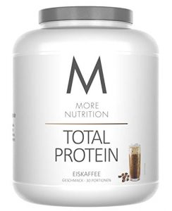 More Nutrition Total Protein – Whey & Casein Zur Optimalen Proteinsynthese 1 x 1500 g (Eiskaffee)